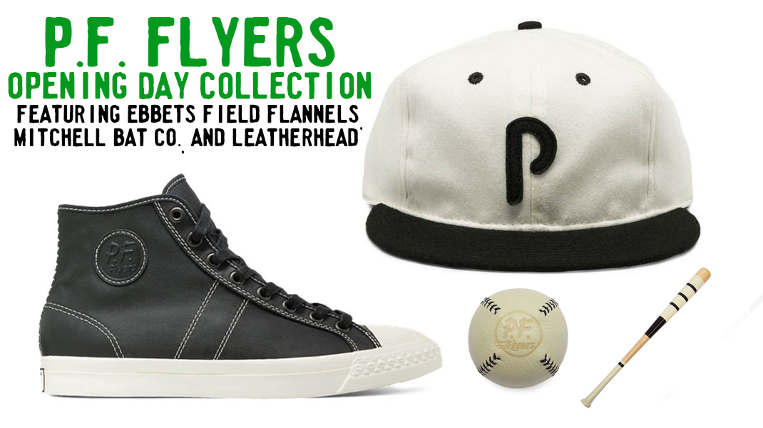 p f flyers opening day collection ebbets field flannels press page