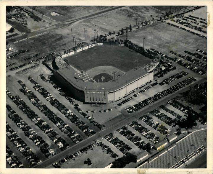Gilmore Field, Hollywood CA Teams housed: Hollywood Stars (1939 - 1957)