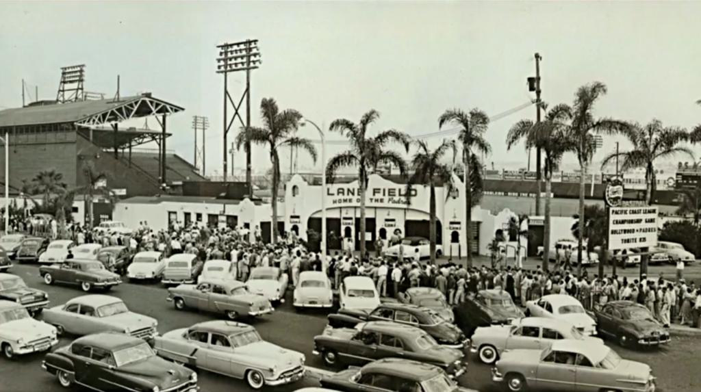 Lane Field, San Diego CA Teams housed: San Diego Padres (1936–1957)