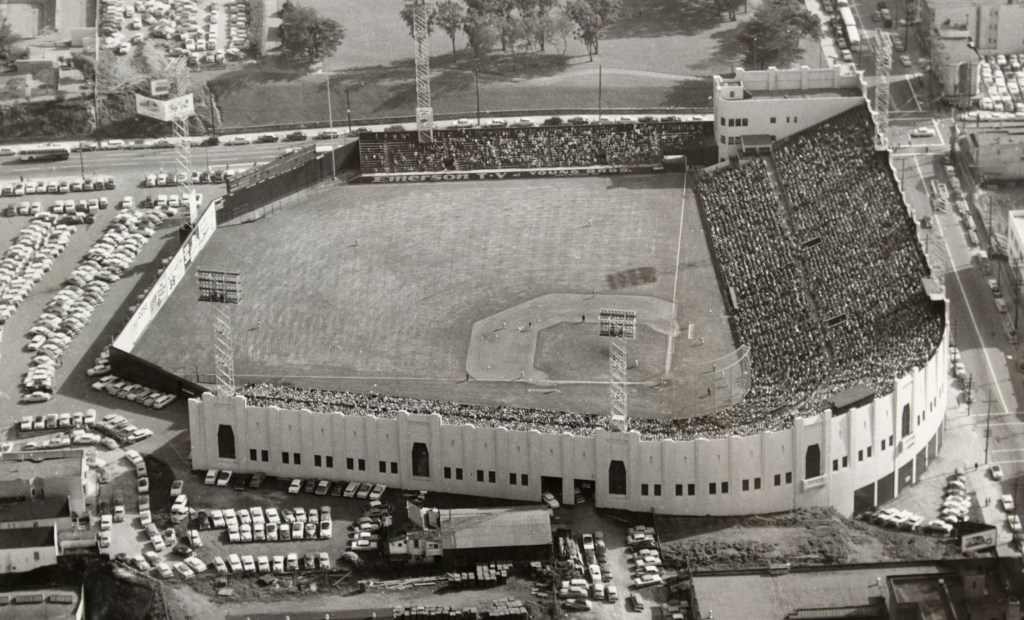 Seals Stadium. San Francisco CA Teams housed: San Francisco Seals (1931-1957), Mission Reds (1931-1937)
