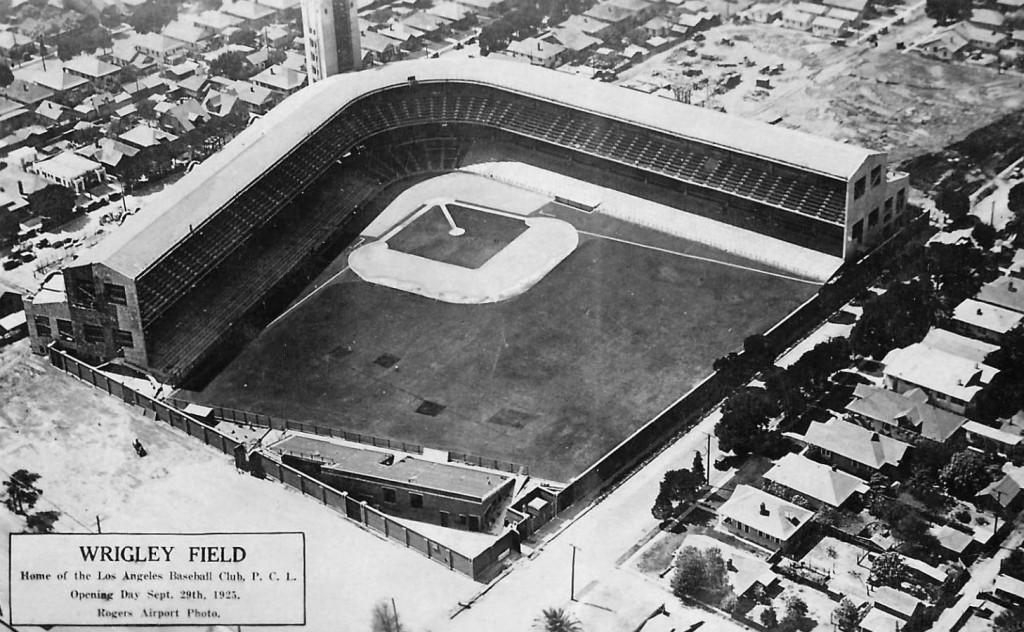 Wrigley Field, Los Angeles CA Teams housed: Los Angeles Angels (1925–1957), Hollywood Stars (1926–1935, 1938)